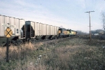 1386-23 Eastbound C&NW freight