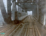 Crossing the Hackensack River Bridge