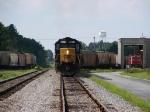 Unit corn train at Rose Hill