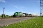 GCFX 3054 heads toward Detroit