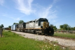 CN 5945 heads for Toledo on the Ann Arbor