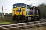 CSX coal train sits on ancient ACL double track