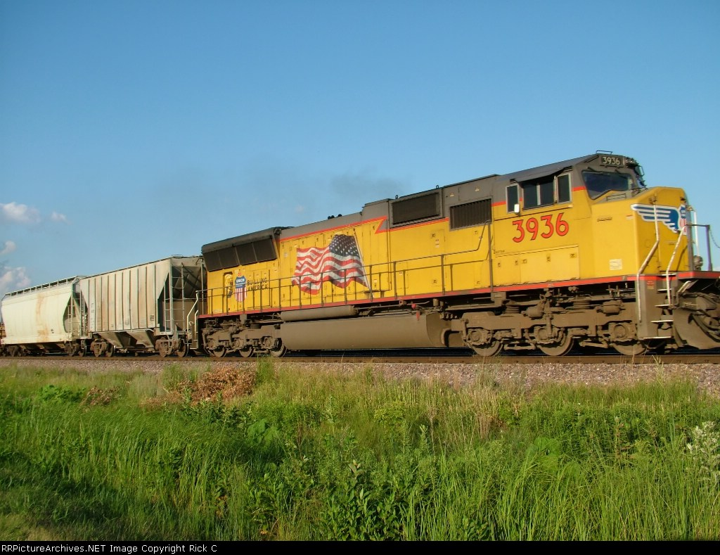 UP 3936 - #2 Power of WB Manifest