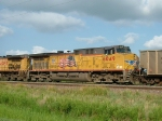 UP 6049 - #2 Power on EB EDGX Coal Loads