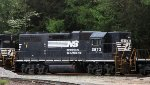 NS 2873 must be one of a very few GP38AC's left in service