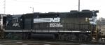NS 2835 sits in Glenwood Yard