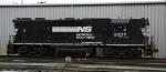 NS 2837 awaits its next assignment at Glenwood Yard