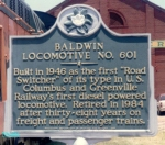 Historical Marker Sign