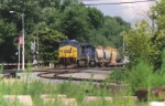 Q389 Heads West At Deshler