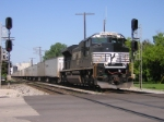 NS 2701 takes a Road Railer Train East.