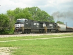 NS 9868 and NS 2550 Take a Train West .