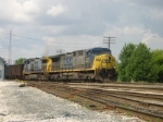 CSX 431comes into the yard at fostoria, Headed Towards Columbus