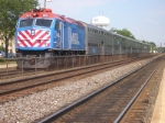METX 201, makes no stop at naperville today
