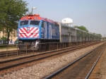 METX 195, stops at Naperville