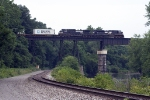 NS 2757 leads 24Z over the Bessemer