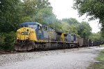 CSX #628 & #1 leading coal through Point of Rocks MD