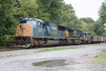 Eastbound coal lead by CSX #4735