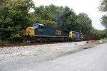 CSX 623 & 4408 leading a ballast train