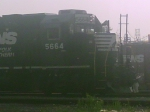 NS 5664 moving forward