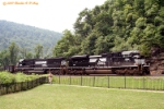 NS 2681 at Horseshoe Curve