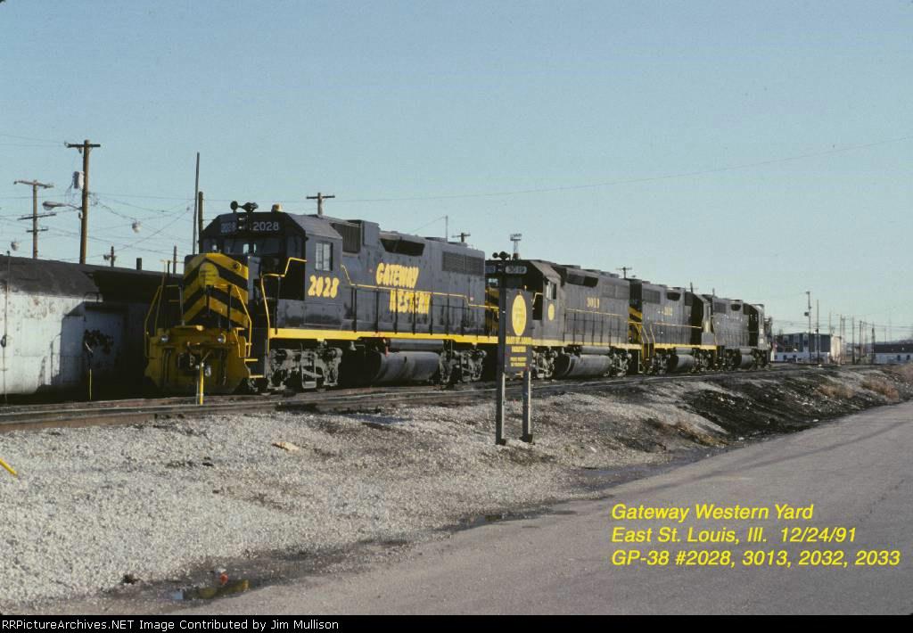 Gateway Western GP-38s and GP-40