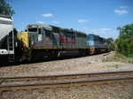 KCS 2834  Crossing the bridge into Illinoise