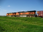 BNSF 987  North of Elsberry