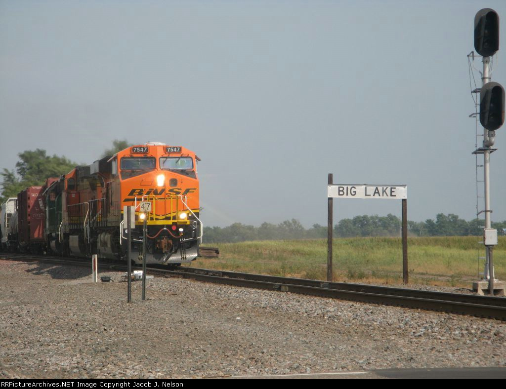 BNSF 7547