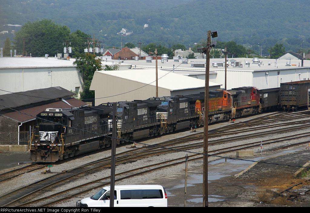 Mixed bag of GE's on a coal train
