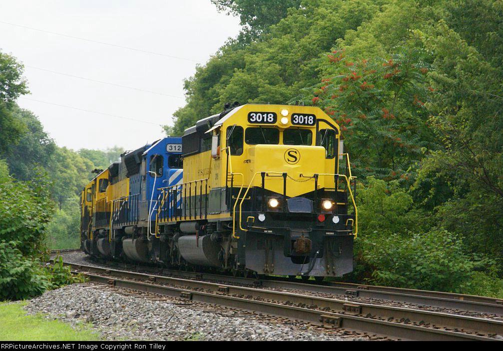 Inbound Susquehanna Freight