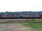 GWWR and KCS Locomotives at Knoche Yard