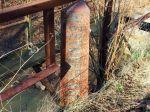 PRR county line marker @ Traffrod