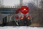 WSOR 4079 is one of only two ex-C&O SD40M-2s left on the railroad