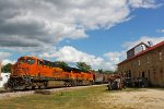 DPU power passing the Old Feed Mill