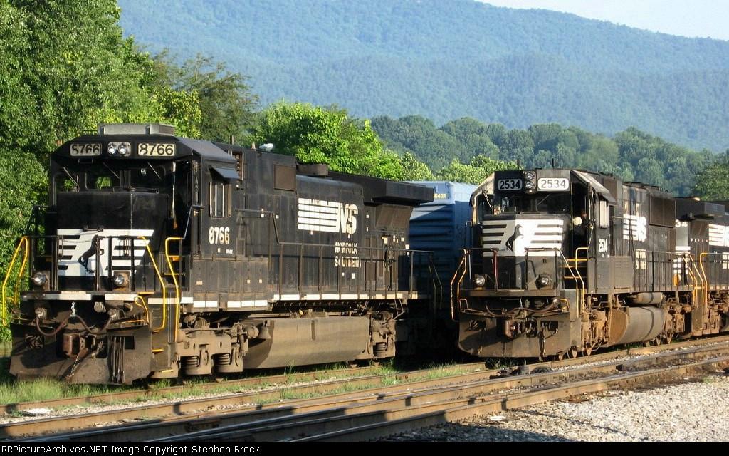 NS 8766 & 2534
