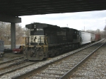 NS 9129, tucked away
