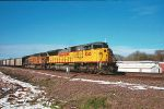 UP 8245/7062 leading eastbound thanksgiving coal