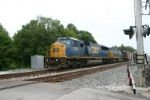 Q209 with CSX 8723 is westbound