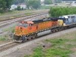BNSF 5084 leads off the Atlanta Line