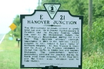 Historical Marker on US 1 near where the old C&O crossed the RF&P