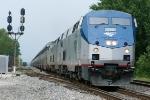 Auto Train #53 heads southbound to Sanford, FL