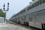 Superliners on the Auto Train #53