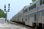 Transition from Superliners to Auto Racks on train #53