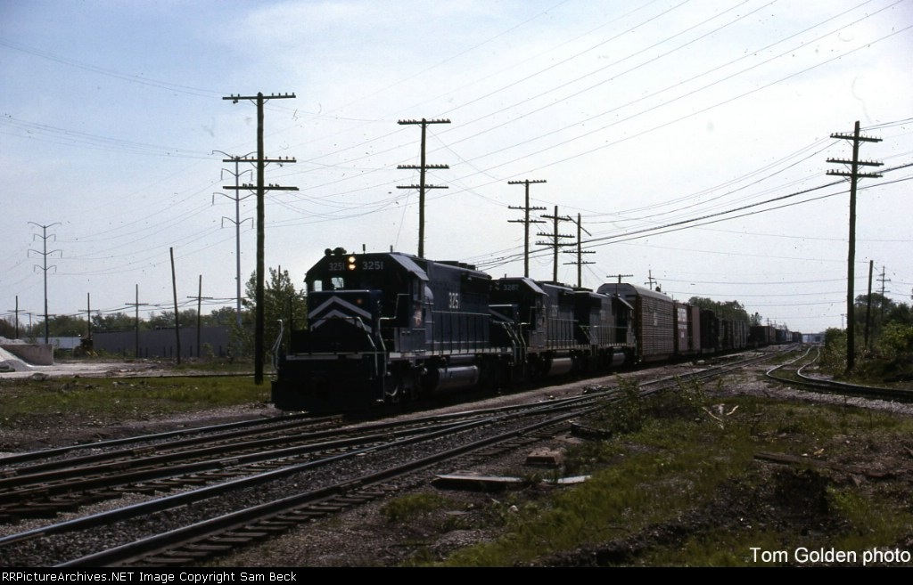 MP 3251 and 3287 Southbound