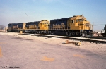 ATSF 3840, 5353, and 5516 Outside of Corwith