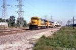 ATSF 7428, 7400, and 3460 on The Mail