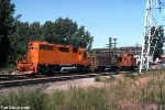 EJE 655 and 300 with Caboose 532