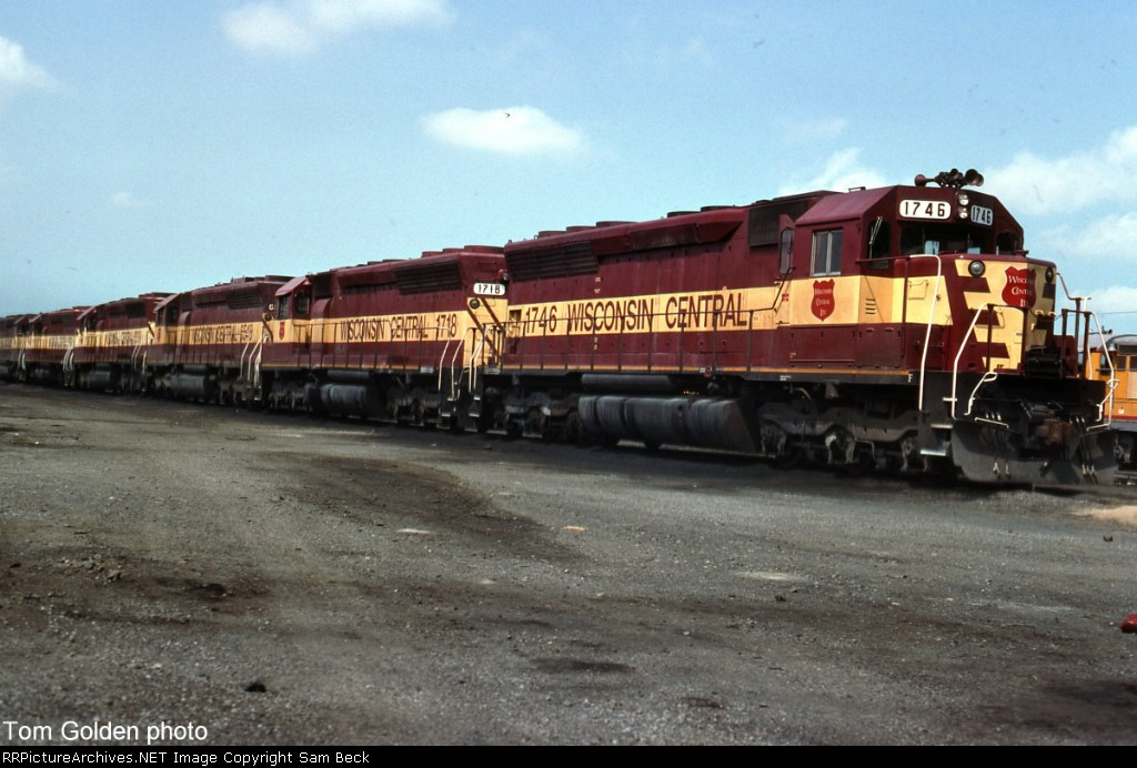 A String of SD45s