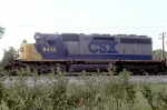 CSX 8448 on NB intermodal