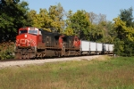 Southbound train for Farmersville Mine
